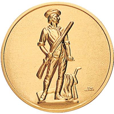 Minuteman Medal, Engraved Medals, Award Store