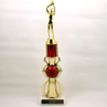 Color Column Jump Shot Basketball Trophy