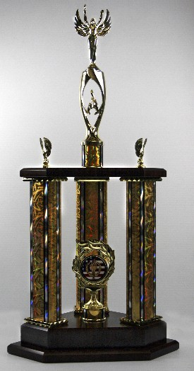 Large Three Poster Team Trophy