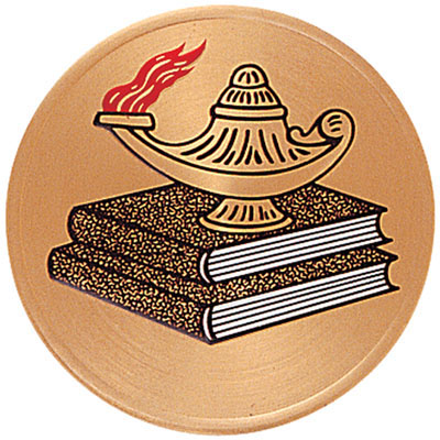 Gold Lamp Of Learning Medal