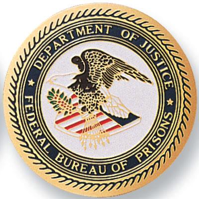 department of justice federal bureau of prisons medal medals. Black Bedroom Furniture Sets. Home Design Ideas