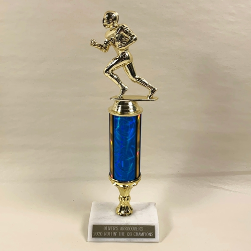 Color Column Halfback Football Trophy