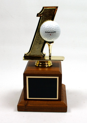 Hole In One Golf Trophy By Athletic Awards