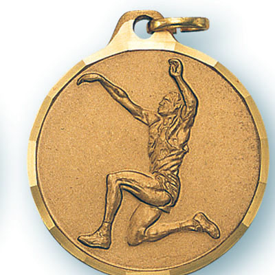 Male Long Jump Track Medal (1¼)