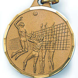 Girls Volleyball Medal
