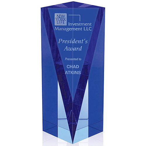 Blue Atria Crystal Award