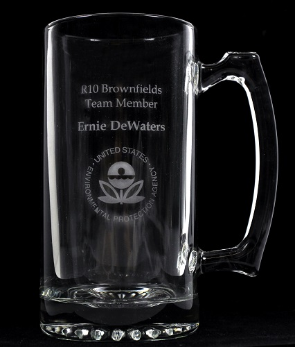 25 Oz. Glass Mug