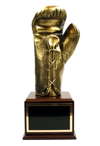 Boxing Gold Glove Trophy