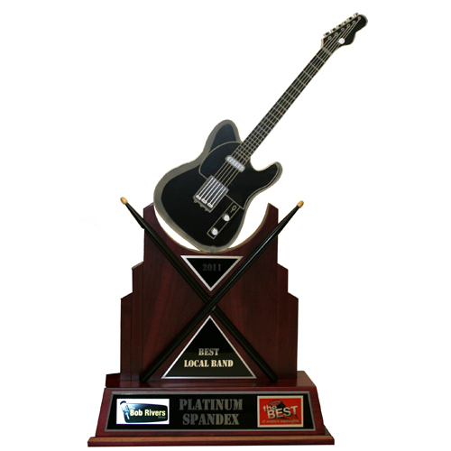 Custom Best Local Band Trophy