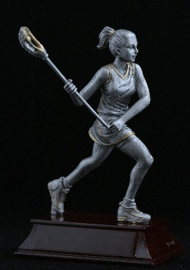 Lacrosse Female Trophy