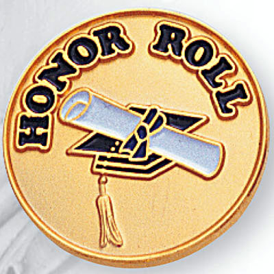 3/4 Honor Roll Pin