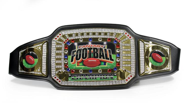 fantasy football champion award belt