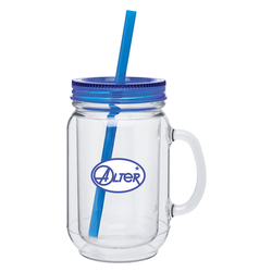 18 oz. double wall acrylic mug