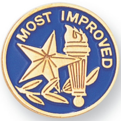 Most Improved Pin  (#cmbr377)