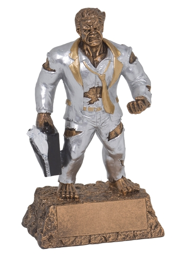 Monster Businessman Trophy