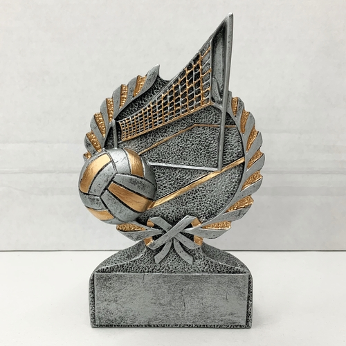 Volleyball Resin Wreath Trophy