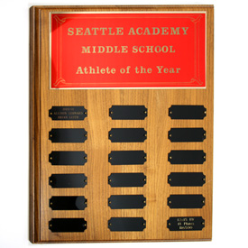 Perpetual Plaques | Athletic Awards