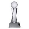 Glass Golf Ball Trophy