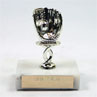 Mini Baseball Glove Trophy CLOSEOUT