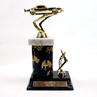 Graphic Column Racing Trophy