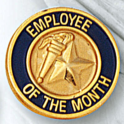Employee of the month awards certificate certificate template