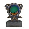 Dodgeball Stand Up Wreath Trophy