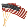 Wood Dowel Handheld American Flag