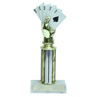 Tall Royal Flush Poker Trophy