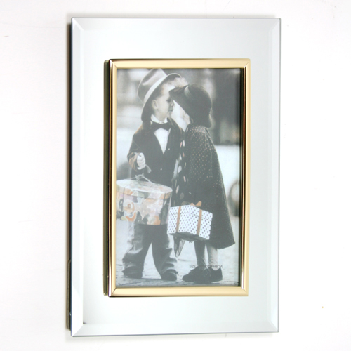 Mirrored Picture Frame, Picture Frames, Engravable Gifts