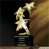 24k Constellation Award with Marble Base