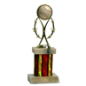 Deluxe Rising Star Trophy With Marble Base
